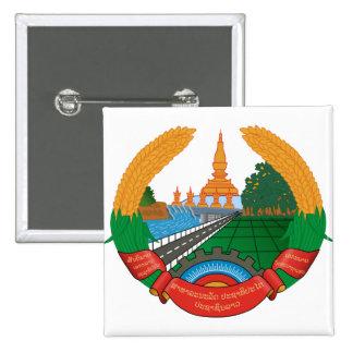 Laos Coat of Arms detail Button