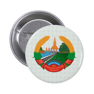Laos Coat of Arms detail Pinback Buttons