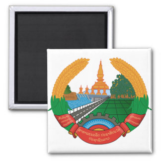 Laos Coat of Arms detail Magnet