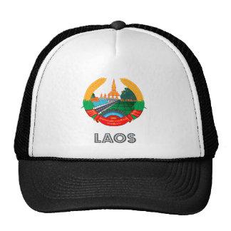 Laos Coat of Arms Trucker Hat