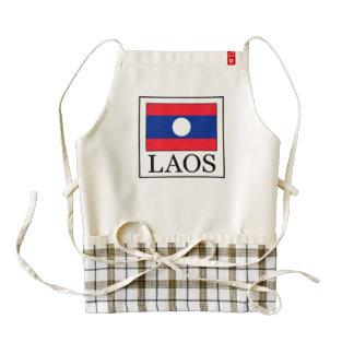 Laos Delantal Zazzle HEART