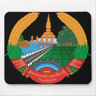 laos emblem mouse pad