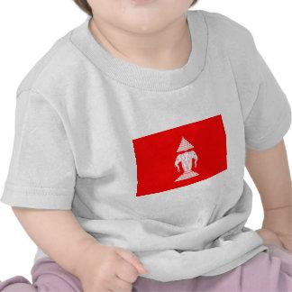 Laos Flag (1952-1975) T Shirts
