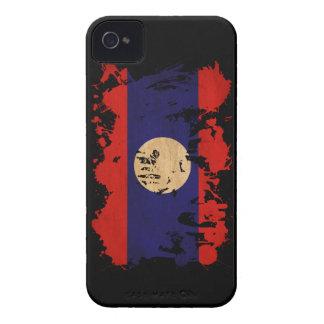 Laos Flag Case-Mate iPhone 4 Case