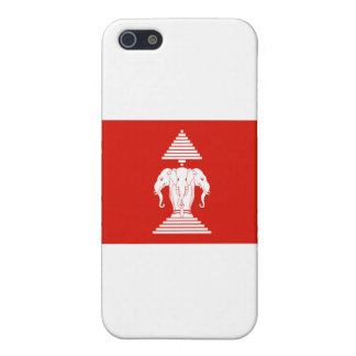Laos Flag Cover For iPhone SE/5/5s