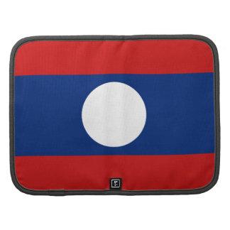 Laos Flag Folio Organizer