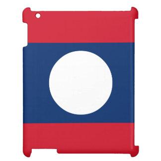 Laos Flag iPad Case