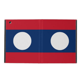 Laos Flag iPad Cases
