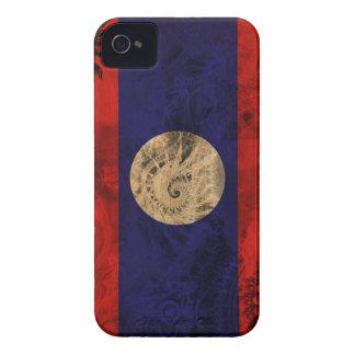 Laos Flag iPhone 4 Case