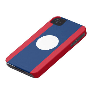 Laos Flag iPhone 4 Covers
