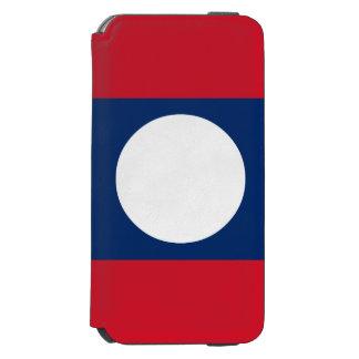 Laos Flag iPhone 6/6s Wallet Case