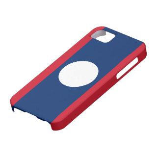 Laos Flag iPhone SE/5/5s Case