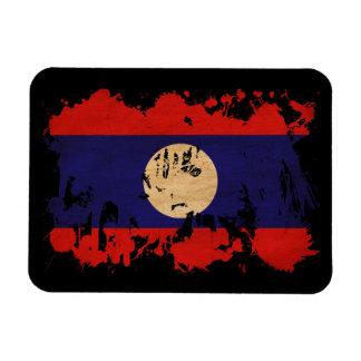 Laos Flag Magnet