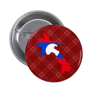 Laos Flag Map full size Buttons