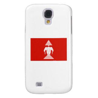Laos Flag Samsung S4 Case
