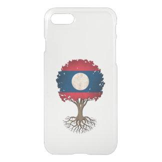 Laos Flag Tree of Life Customizable iPhone 8/7 Case