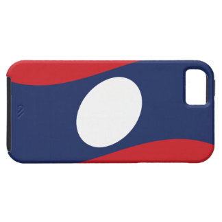 Laos Flag Wave Cover Skin Case