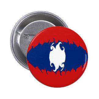 Laos Gnarly Flag Button