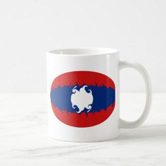 Laos Gnarly Flag Mug