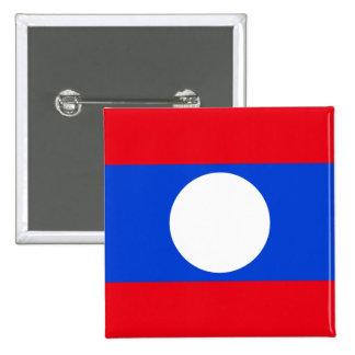 Laos High quality Flag Button