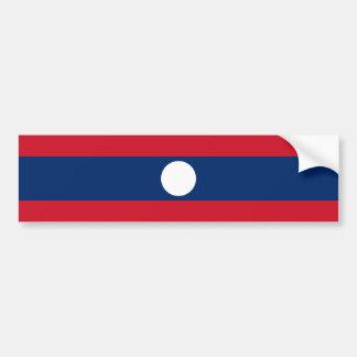 Laos/Lao/Laotian Flag Car Bumper Sticker