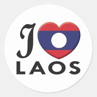 Laos Love Stickers