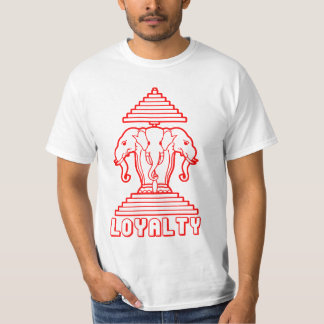 Laos Loyalty 3 Head Elephants T-Shirt