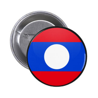 Laos quality Flag Circle Button