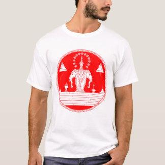 Laos Royalty 3 Head Elephants T-Shirt