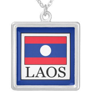 Laos Silver Plated Necklace