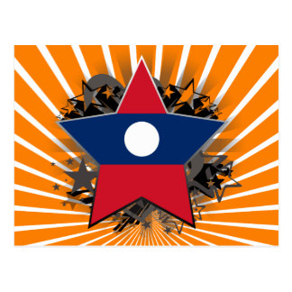 Laos Star Postcard