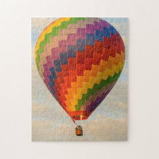 Laos, Vang Vieng. Hot air balloon Jigsaw Puzzle