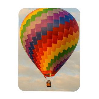 Laos, Vang Vieng. Hot air balloon Magnet