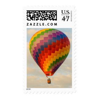 Laos, Vang Vieng. Hot air balloon Postage Stamp