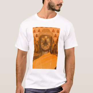 Laos, Vientiane, one of 6840 Buddha images in 2 T-Shirt