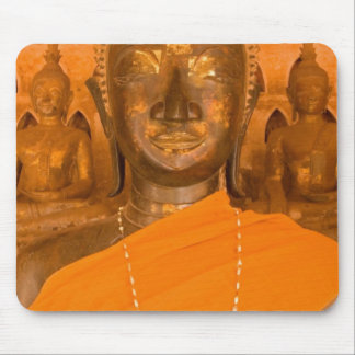 Laos, Vientiane, one of 6840 Buddha images in Mouse Pad