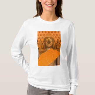 Laos, Vientiane, one of 6840 Buddha images in T-Shirt
