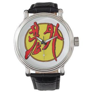 Laowai - logo wrist watch
