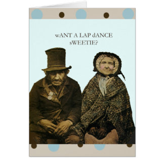 Lap Dance Sweetie Cards
