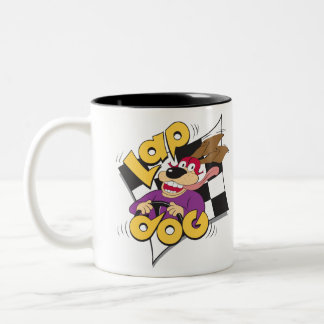 Lap Dog - auto racing fan's coffee mug