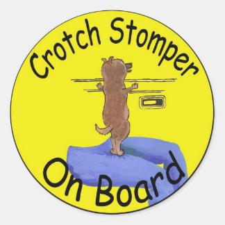 lap dog lover sticker