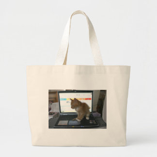 Lap Kitty Top Canvas Bags
