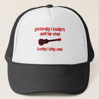 Lap Steel Trucker Hat