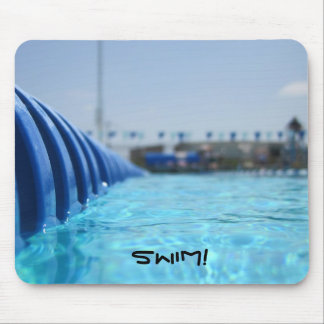 Lap Swim Mouse Pad