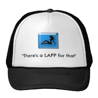 "lap, ""There's a LAPP for that"" Trucker Hat"