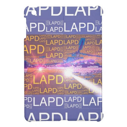 LAPD Air Support Case For The iPad Mini