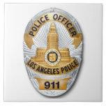 LAPD Badge Ceramic Tile