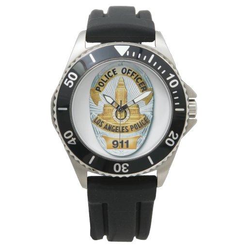 Zazzle LAPD Badge Watch