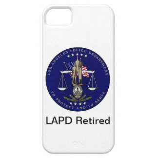 LAPD Retired iPhone Case