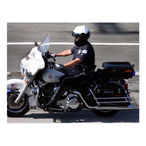 LAPD TARJETA POSTAL